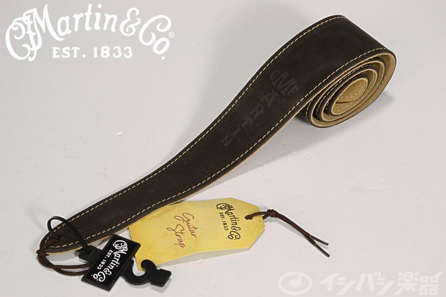 Martin マーチン / 18A0017 Guitar Strap SUEDE Brown ストラップ