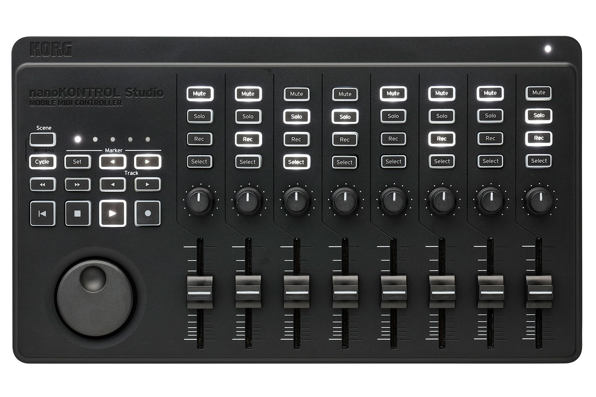 KORG / nanoKONTROL Studio (NANOKTRL-ST) MIDIコントローラー【WEBSHOP】【YRK】