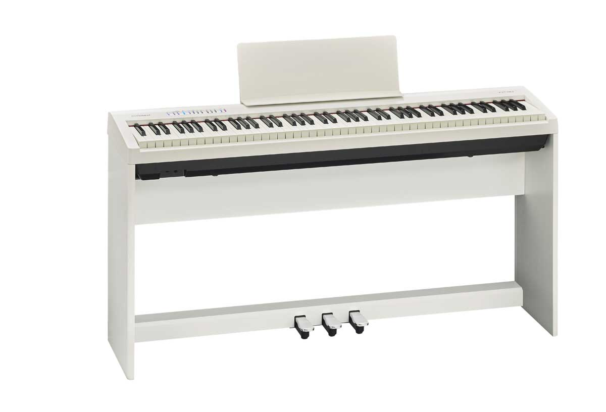 Roland ローランド / FP-30-WH 【専用スタンド&3本ペダルセット!】 電子ピアノ【代引き不可】【全国組立設置無料】【YRK】【PTNB】