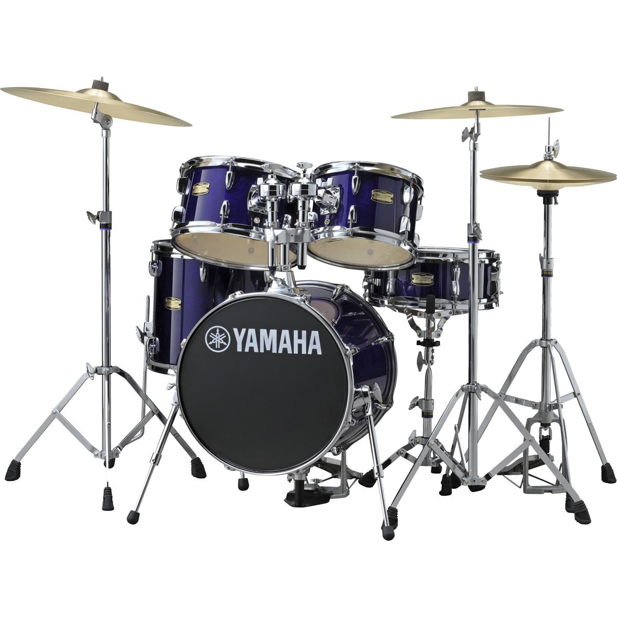 YAMAHA ドラムセット JK6F5DV ヤマハ ジュニアキット ジルジャン ZBTシンバルセット DPVディープバイオレット【YRK】