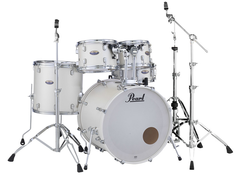 Pearl ドラムセット DECADE MAPLE STANDARD DMP925S/C-D #229 White Satin Pearl 【お取り寄せ商品】
