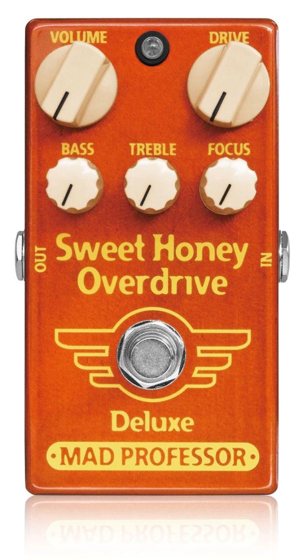 【タイムセール:7月2日12時まで】Mad Professor / New Sweet Honey Overdrive Deluxe [オーバードライブ]マッドプロフェッサー【国内正規品】【WEBSHOP】【お取り寄せ商品】