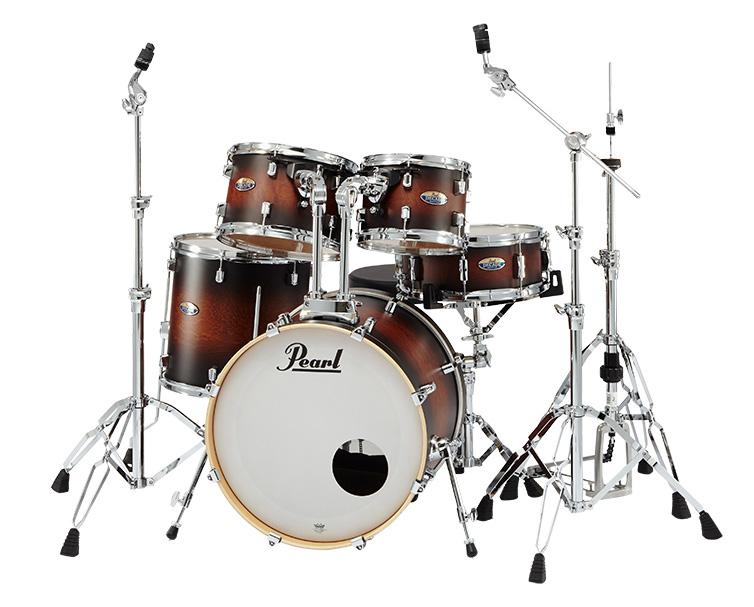 Pearl ドラムセット DMP905/C-D #260 Satin Brown Burst パール DECADE Maple COMPACT シンバル別 【お取り寄せ商品】
