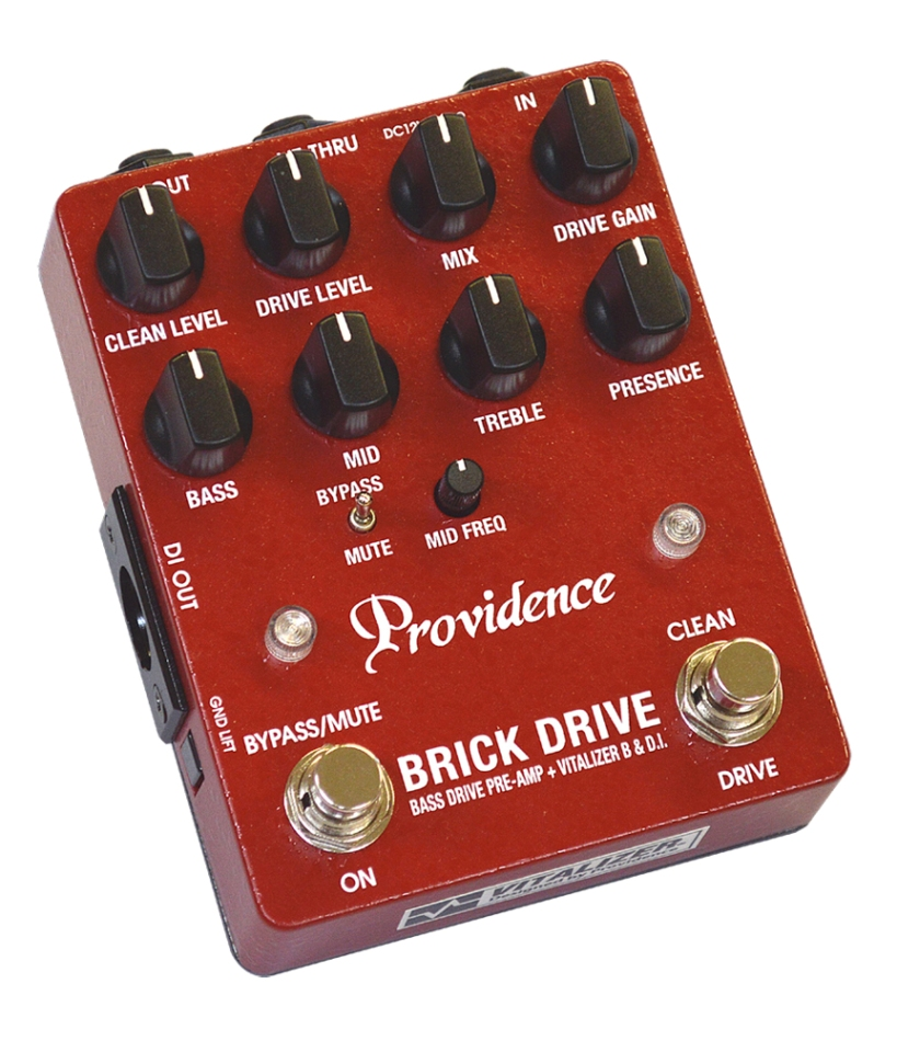Providence / BDI-1 BRICK DRIVE [ベース用プリアンプ] プロヴィデンス【お取り寄せ商品】【WEBSHOP】