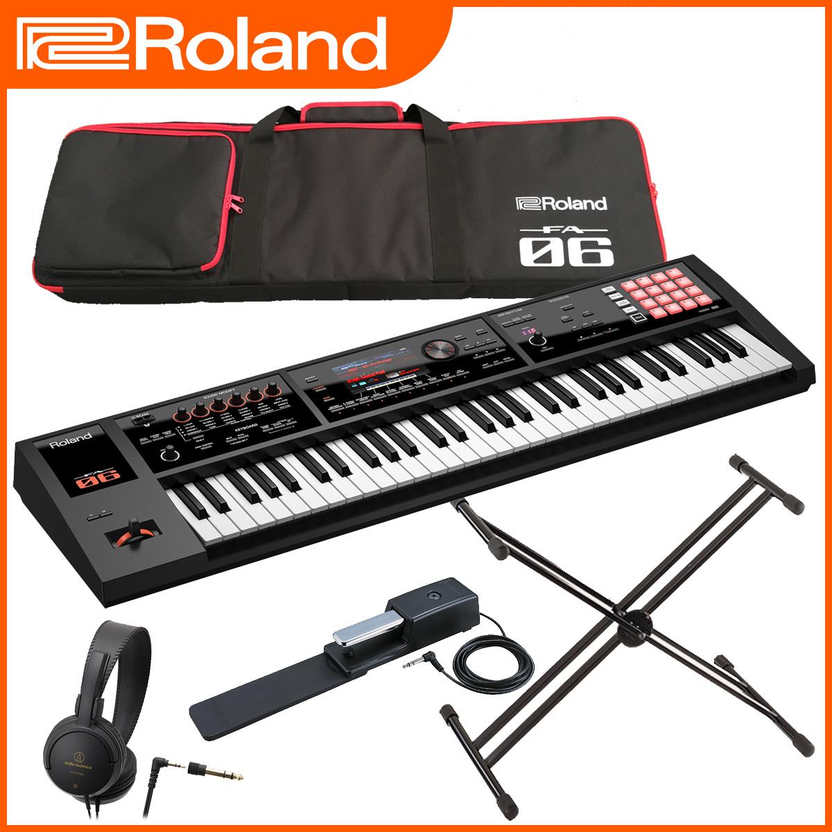 Roland / FA-06 【スタートセット!】シンセサイザー 【YRK】
