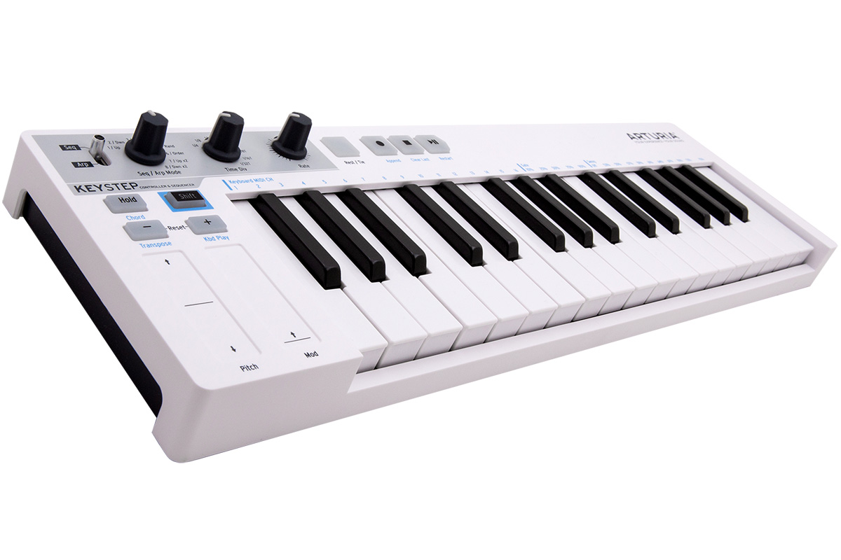 ARTURIA アートリア / KeyStep MIDIキーボード【YRK】