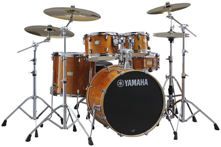 YAMAHA ステージカスタム ドラムセット SBP2F5S18-HA(ハニーアンバー) 22BD/スタンダードセット+Sジルジャン3シンバルセット【YRK】