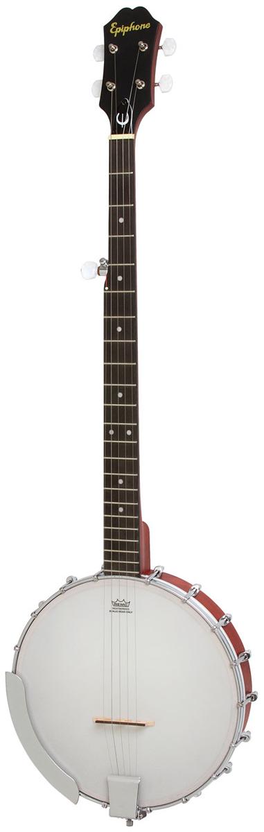 EPIPHONE / MB-100 Banjo NA (Natural) エピフォン バンジョー 入門 初心者 【正規輸入品/新品】【WEBSHOP】