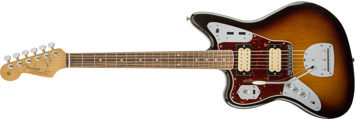 【タイムセール:29日12時まで】Fender / Kurt Cobain Jaguar Left Hand NOS 3-Color Sunburst 【YRK】【新品特価】