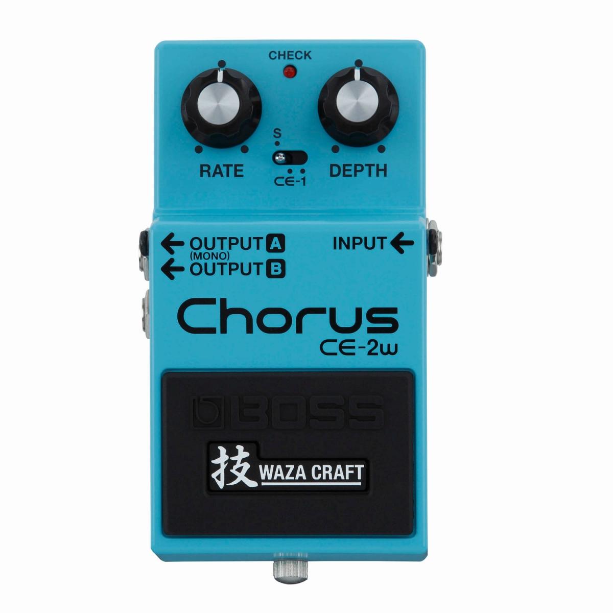 BOSS / 技WAZA CRAFT CE-2W Chorus ボス 【WEBSHOP】【YRK】《9Vマンガン電池2個プレゼント!/+681215700×2》