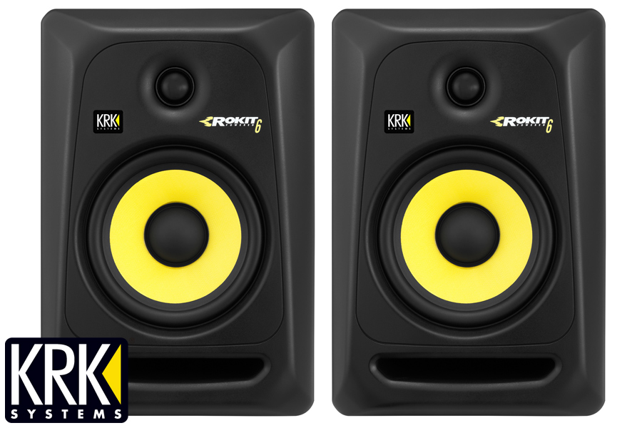 KRK ケーアールケー/ RP 6 G3 モニタースピーカー(RP6G3)(RP6-G3)【1ペア】【お取り寄せ商品】