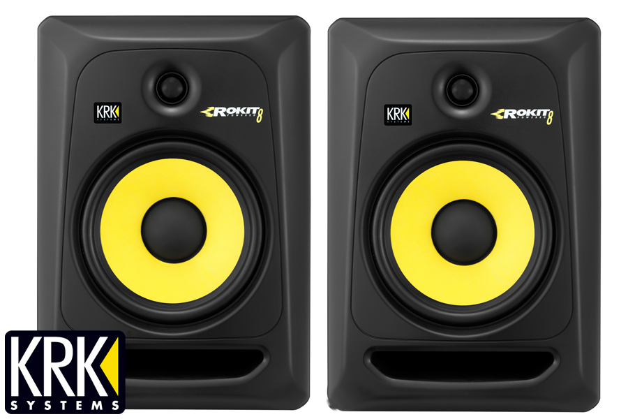 KRK ケーアールケー/ RP 8 G3 モニタースピーカー(RP8G3)(RP8-G3)【1ペア】【お取り寄せ商品】