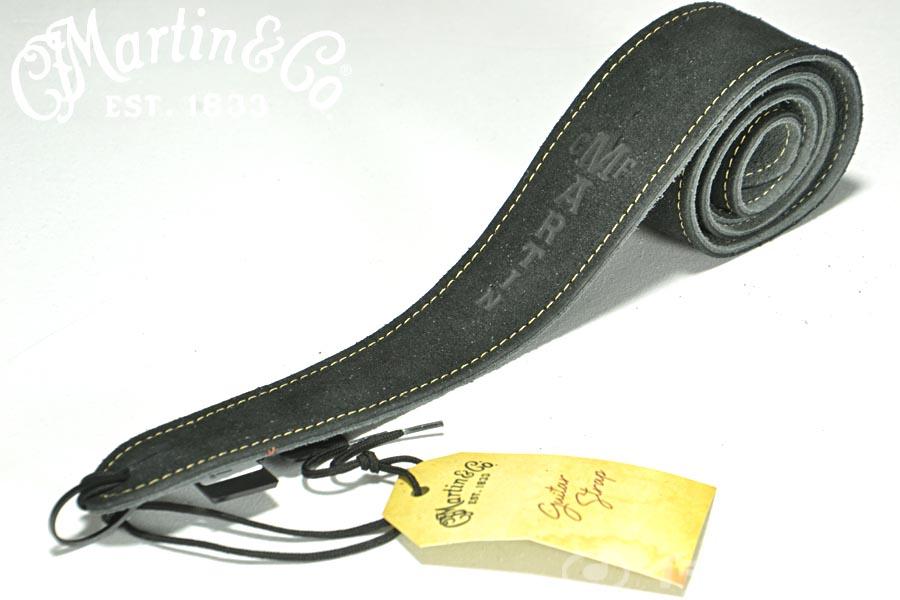 Martin マーチン / 18A0016 Guitar Strap Suede Black ストラップ