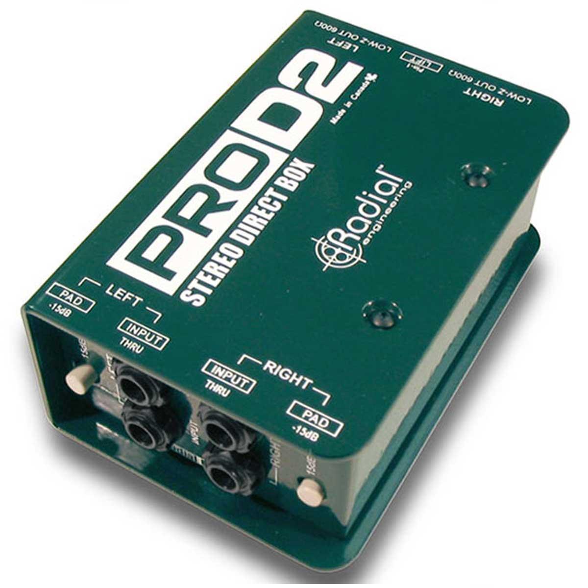 Radial ラディアル(ラジアル) / PRO D2 ステレオ・ダイレクトボックス【お取り寄せ商品】