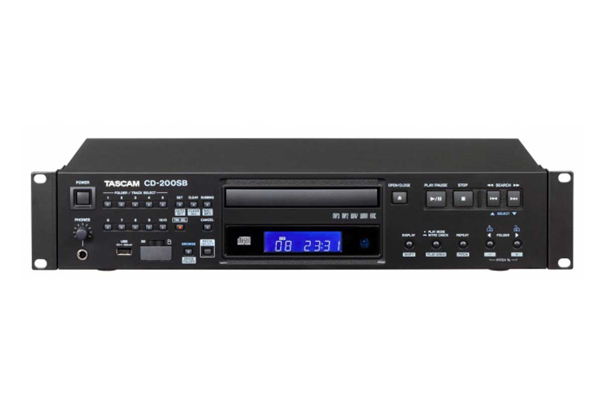 TASCAM タスカム / CD-200SB CDプレーヤー【お取り寄せ商品】