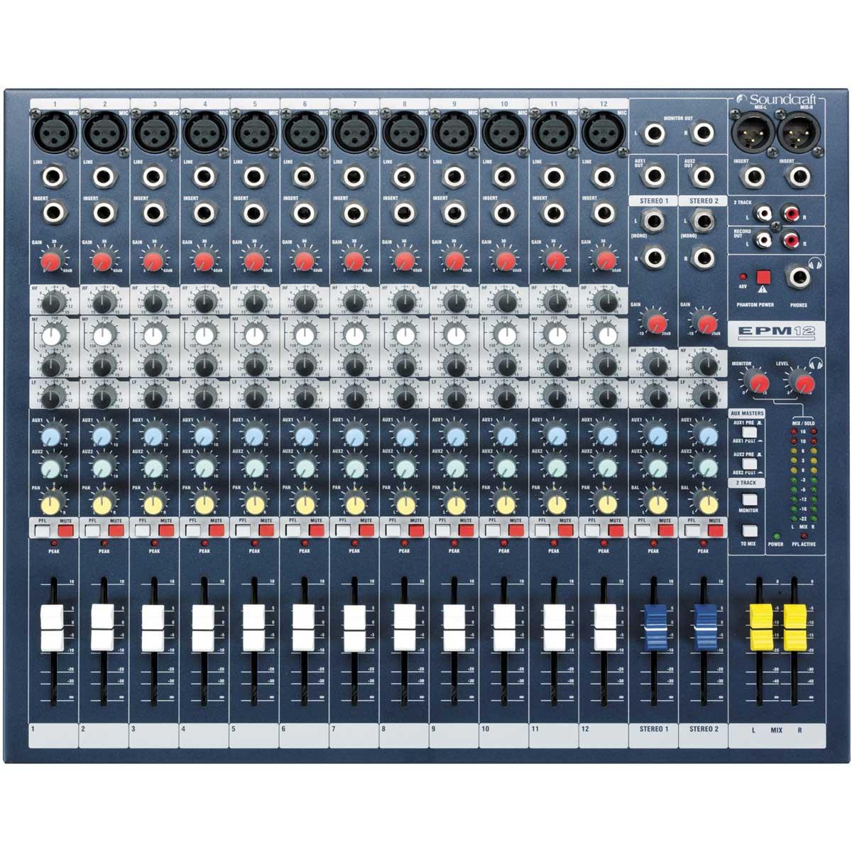 Soundcraft サウンドクラフト / EPM12 アナログミキサー【お取り寄せ商品】
