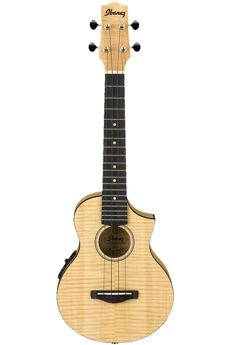Ibanez / UEW12E OPN (Open Pore Natural) アイバニーズ エレウク ウクレレ【お取り寄せ商品】《予約注文/納期別途ご案内》