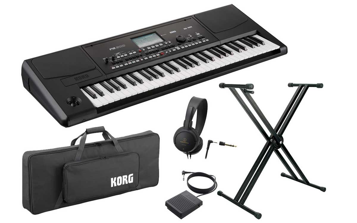 KORG コルグ / PA300 アレンジャーキーボード 【スタートセット!】【YRK】《予約注文/月5下旬入荷予定》