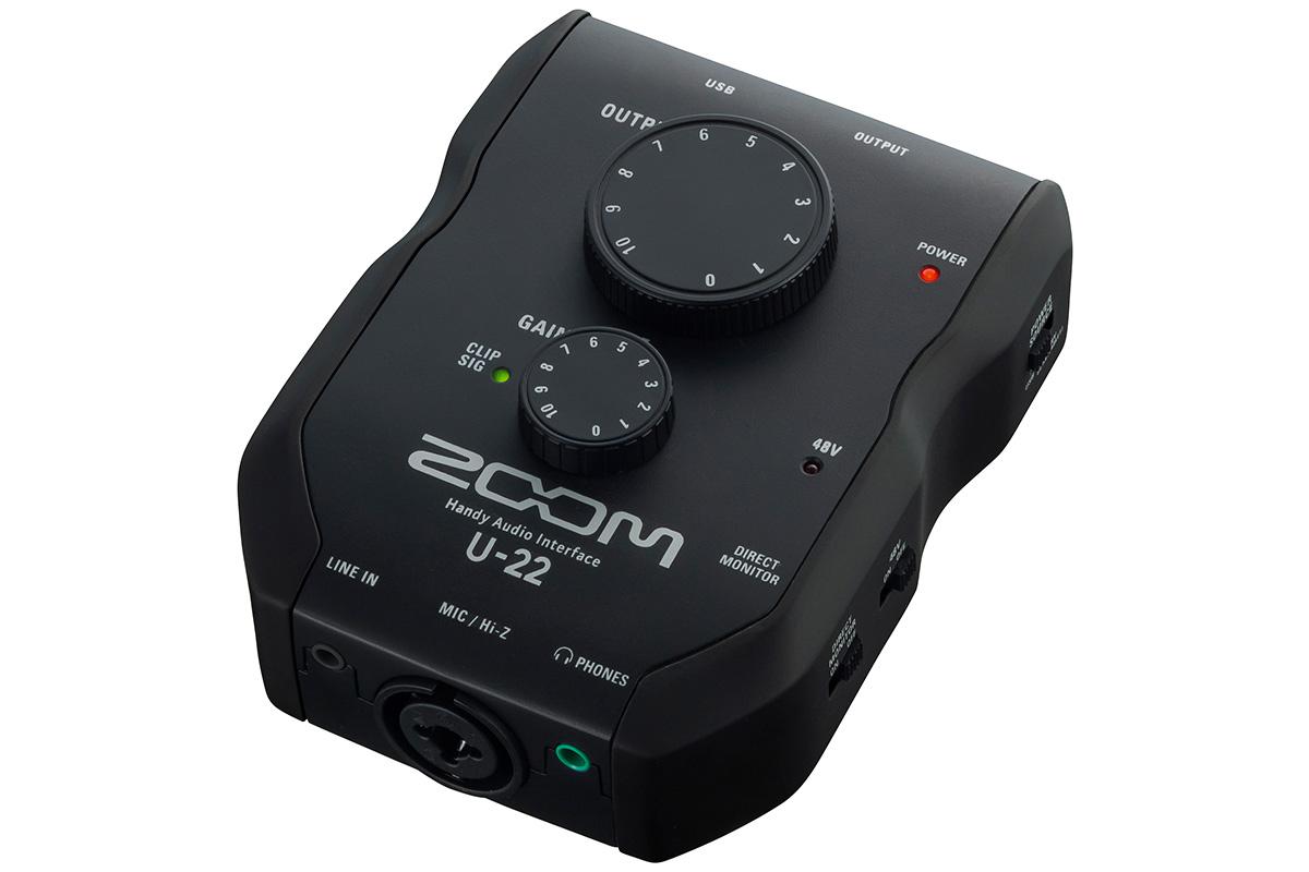 ZOOM ズーム/ U-22 オーディオインターフェース