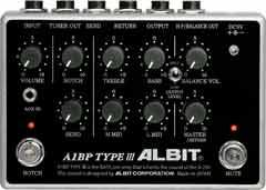 ALBIT / A1BP TYPE III BASS PRE-AMP アルビット ベースプリアンプ【お取り寄せ商品】【WEBSHOP】