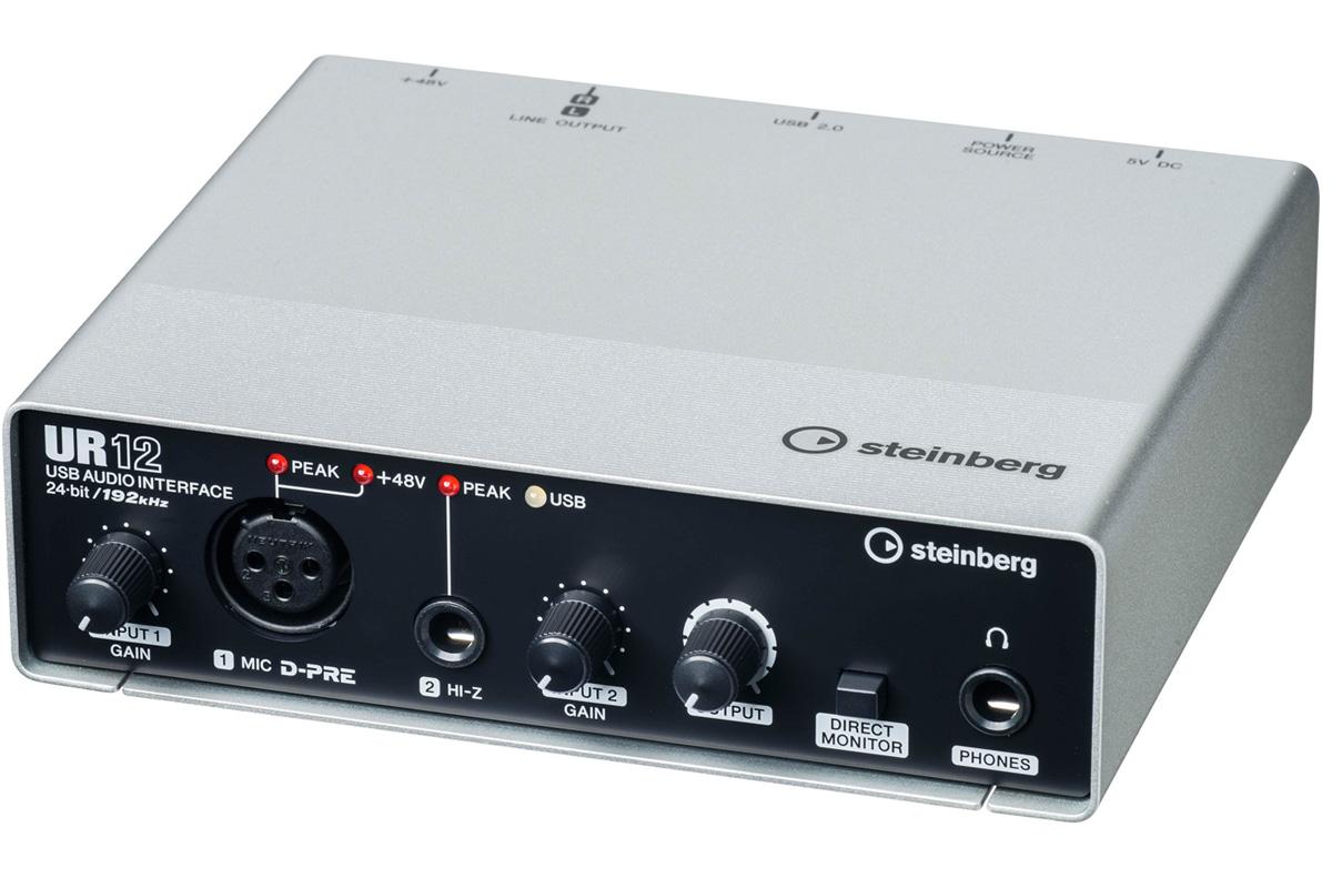 Steinberg スタインバーグ / UR12 USBオーディオインターフェース