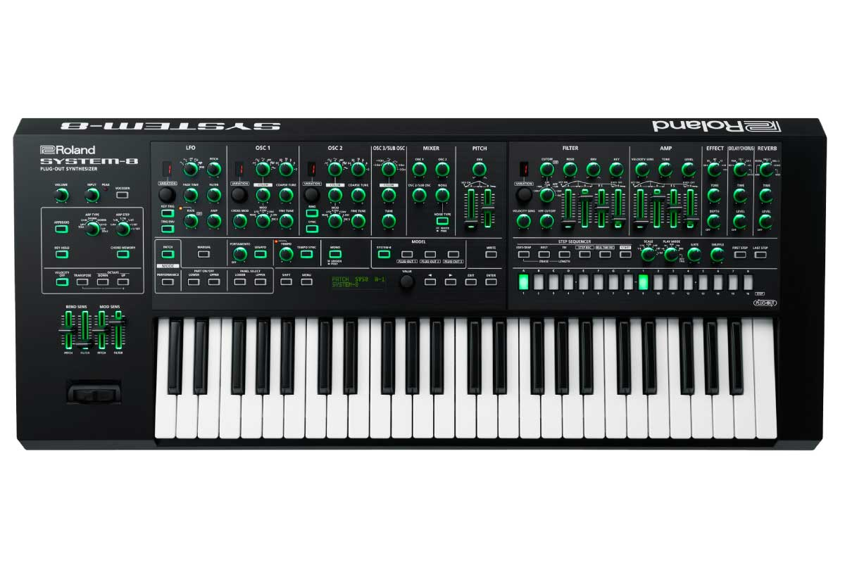 Roland ローランド / SYSTEM-8 Plug-Out Synthesizer シンセサイザー AIRA