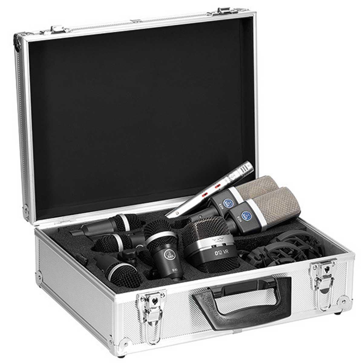 AKG エーケージー(アーカーゲー) / DRUM SET PREMIUM ドラム用マイクロホン・セット【お取り寄せ商品】