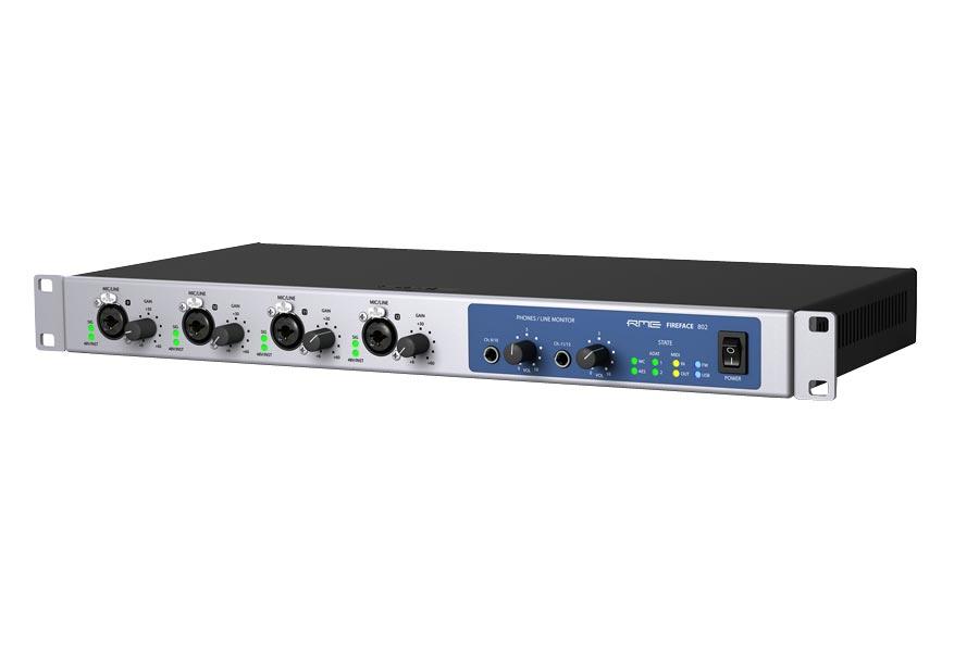 RME アールエムイー / Fireface 802 USB&FireWire オーディオインターフェイス