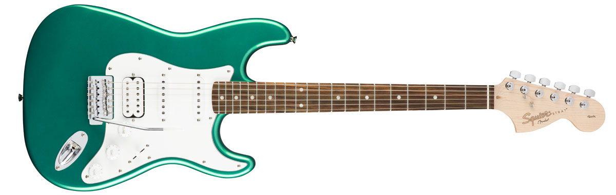 Squier by Fender / Affinity Stratocaster HSS Race Green Rosewood