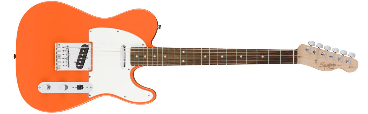 【タイムセール:7月2日12時まで】Squier by Fender / Affinity Telecaster Competition Orange Rosewood
