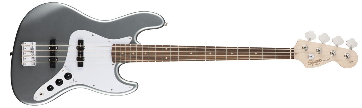 【タイムセール:7月2日12時まで】Squier by Fender / Affinity Jazz Bass Slick Silver Rosewood