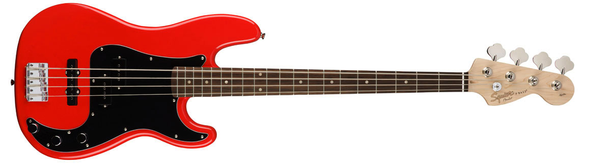 Squier by Fender / Affinity Precision Bass PJ Race Red Rosewood