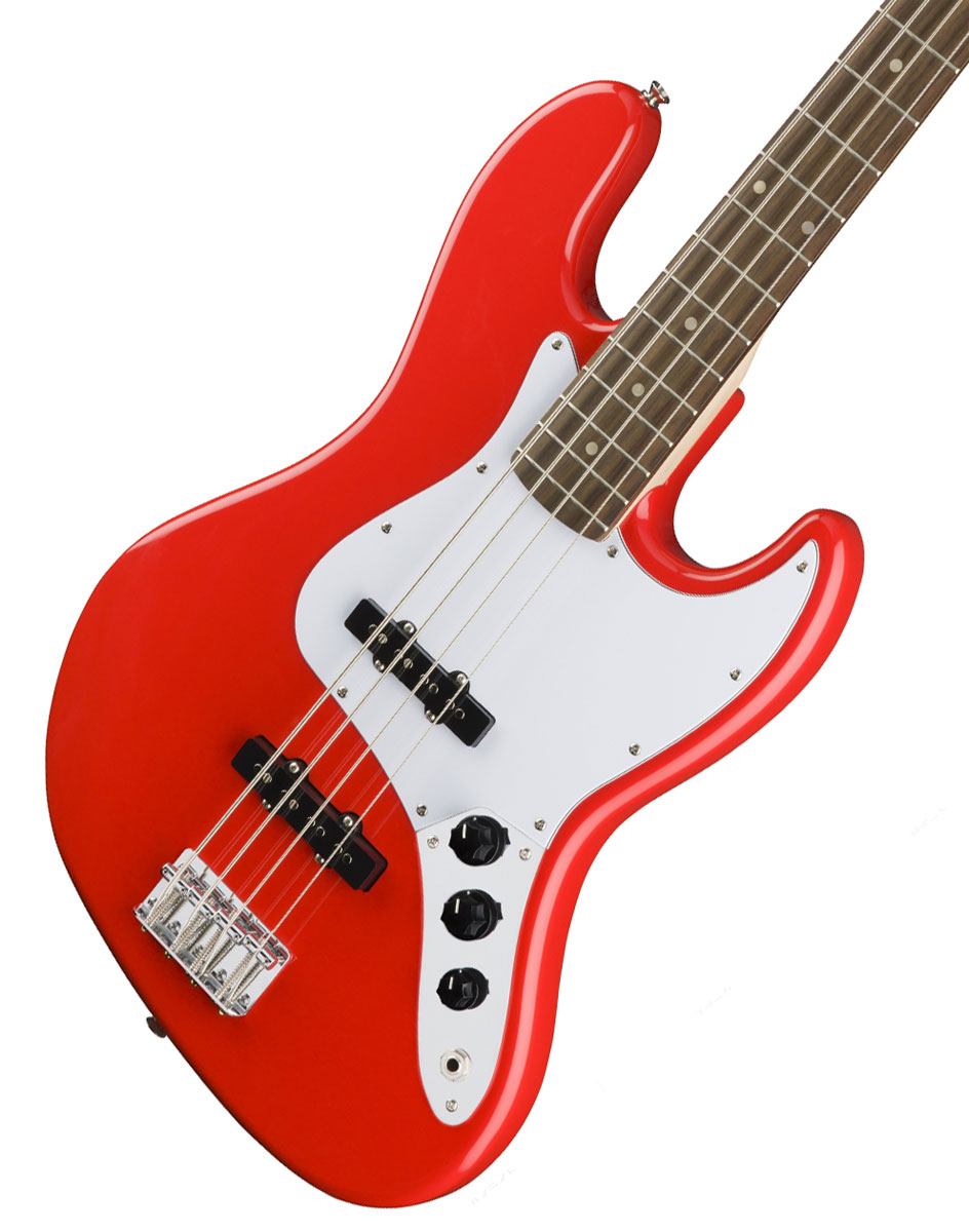 Squier by Fender / Affinity Jazz Bass Race Red (Rosewood Fingerboard) スクワイヤー スクワイア エレキベース 入門 初心者