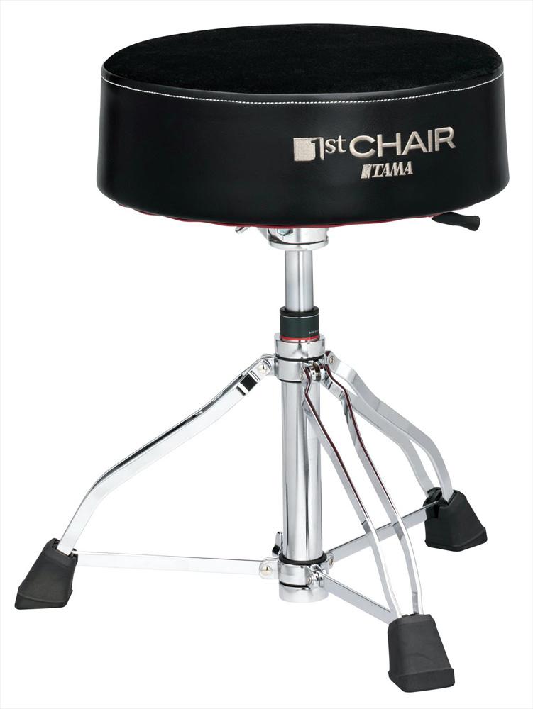 TAMA HT850BC タマ 1st Chair シリーズ ドラムスローン ガスリフト クロストップ (丸座XLサイズ)【WEBSHOP】