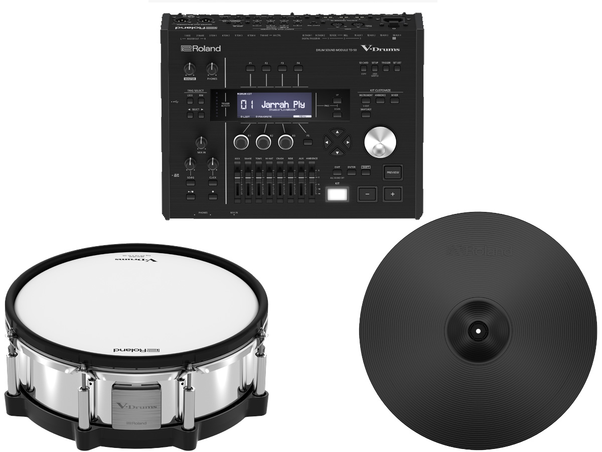 Roland TD-50DP ローランド 電子ドラム TD-50 Digital Pad Package【YRK】