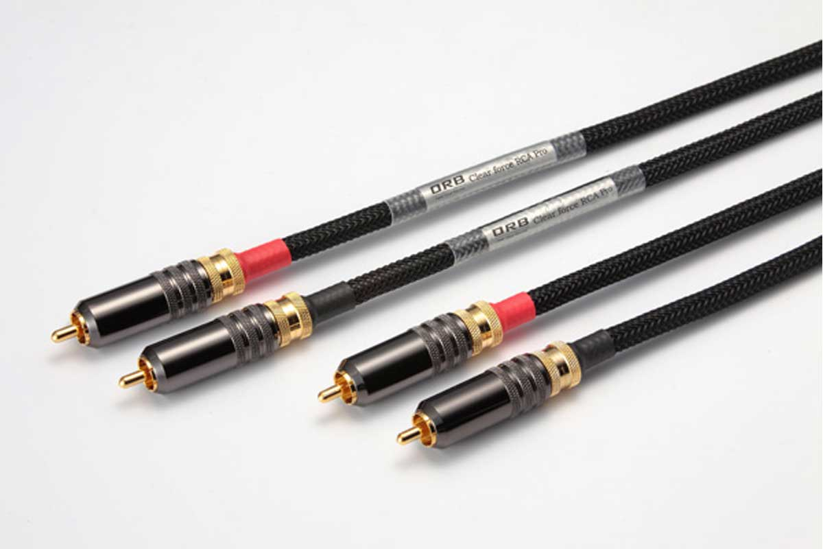 ORB オーブ / Clear force RCA Pro 4m RCAケーブル【お取り寄せ商品】