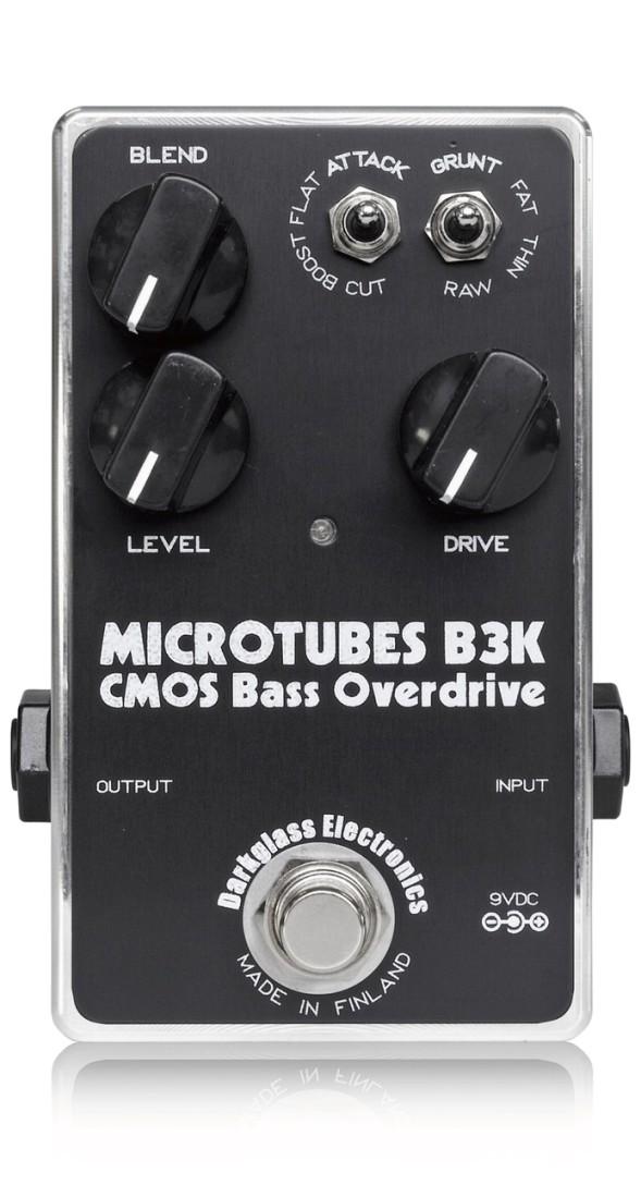 Darkglass Electronics / Microtubes b3k Overdrive [ベース用オーバードライブ] マイクロチューブス ダークグラスエレクトロニクス【国内正規品/お取り寄せ商品】