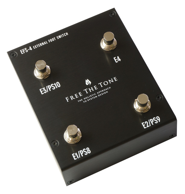 Free the Tone / EFS-4 BLACK EXTERNAL FOOTSWITCH