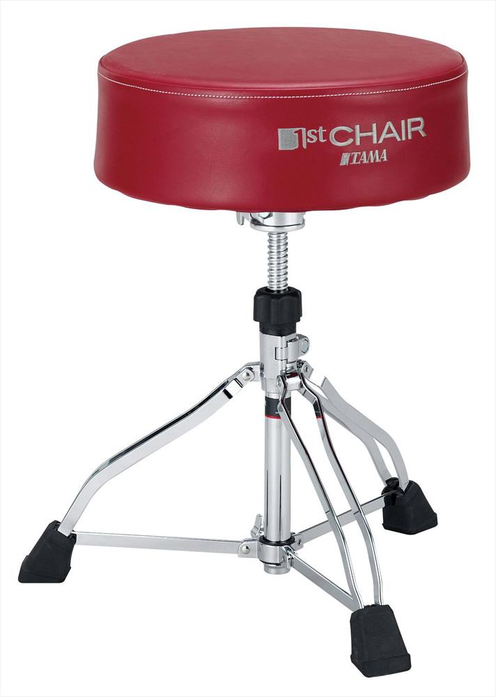 TAMA HT830R タマ 1st Chair シリーズ ラウンドライダーXL ドラムスローン 丸座XLサイズ 赤【お取り寄せ商品】【WEBSHOP】