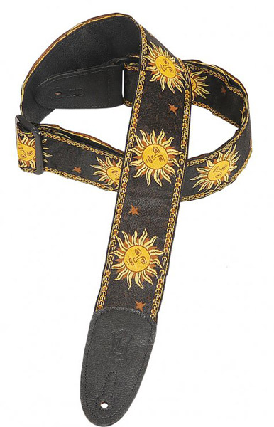 Levy's / Woven Design Fabric Strap MPJG-SUN-BLK Black 【★お取り寄せ】