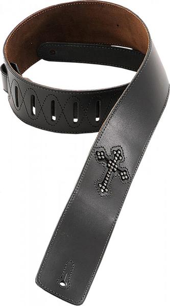 Levy's / Genre Christian Leather Strap DM7R-BLK Black 【★お取り寄せ】