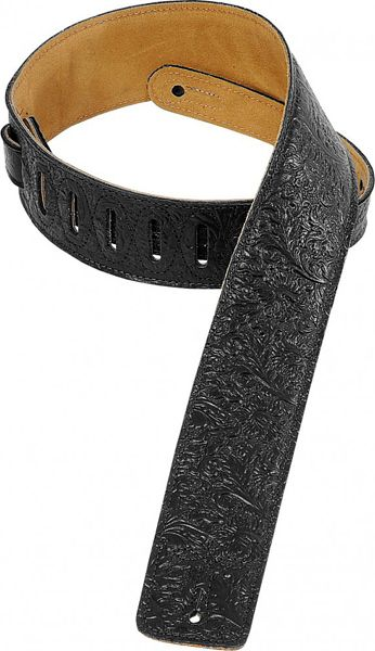Levy's / Standard Printed Garment Leather Strap DM1FF-BLK Black 【★お取り寄せ】