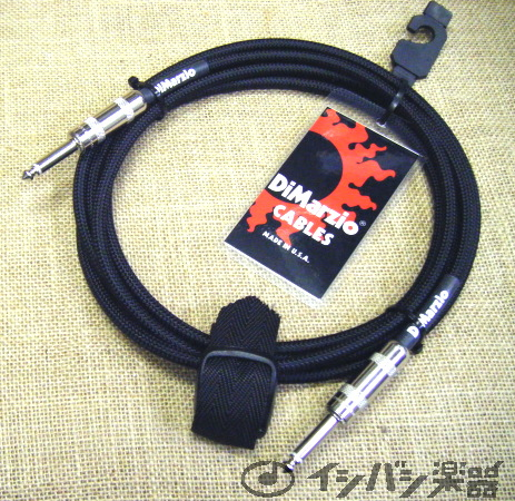 DiMarzio / Guitar Cable EP1718SS 18ft (約5.4m) SS Black 【★お取り寄せ】