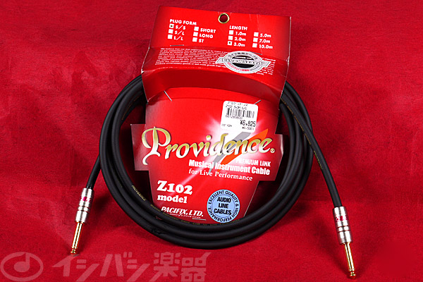 Providence / Premium Link Livewizard Guitar Cable Z102 3.0m SS 【★お取り寄せ】