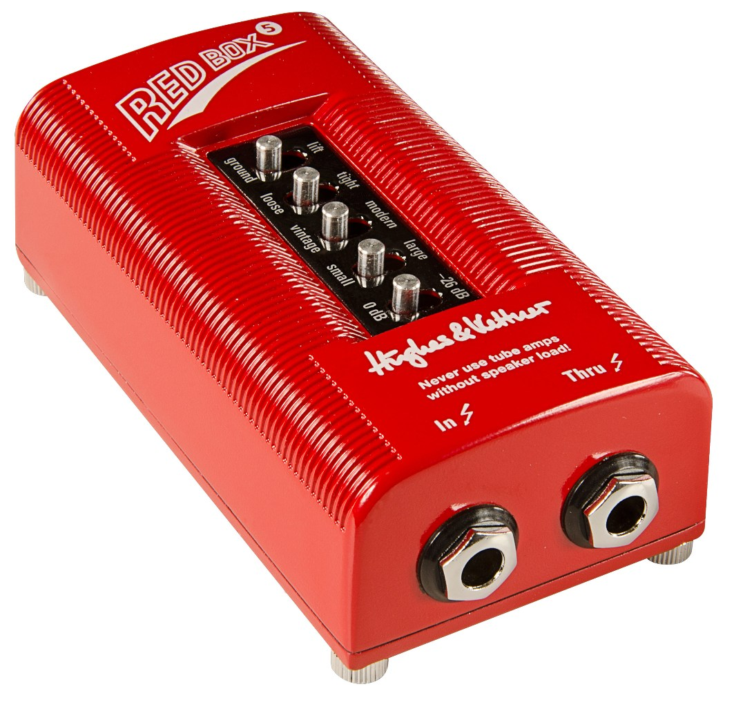 Hughes & Kettner / HUK-RB5 RED BOX 5 キャビネットシミュレーター ヒュースアンドケトナー【お取り寄せ商品】【WEBSHOP】