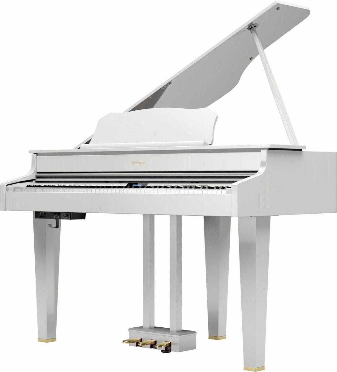 Roland ローランド / GP607 PWS 白塗鏡面塗装仕上げ 電子ピアノ (GP-607)(GP607-PWS)【全国組立設置無料】【代引き不可】【YRK】【PTNB】《予約注文/11月下旬入荷予定》