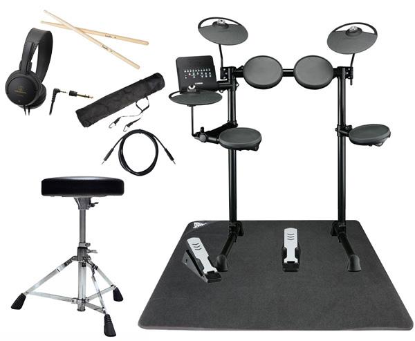 YAMAHA ヤマハ 電子ドラム DTX400KS ドラムマット付きオリジナルスターターパック【YRK】