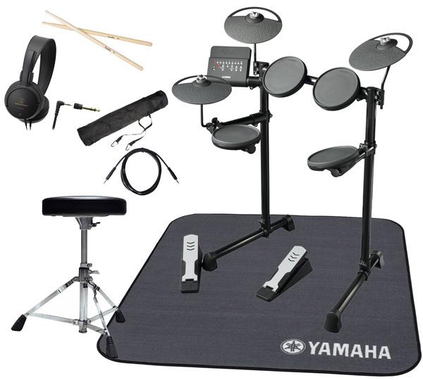 YAMAHA ヤマハ 電子ドラム DTX400KS 純正ドラムマット付きオリジナルスターターパック【YRK】