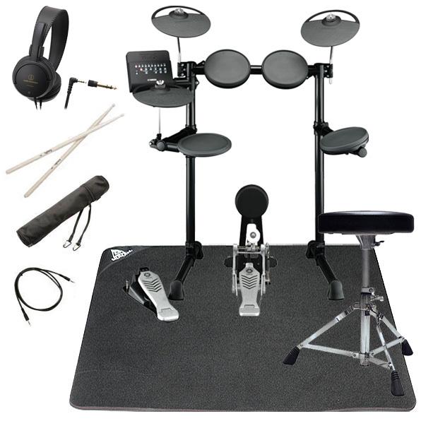 【タイムセール:7月2日12時まで】YAMAHA ヤマハ 電子ドラム DTX450KS ドラムマット付きオリジナルスターターパック【YRK】