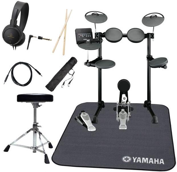 【タイムセール:7月2日12時まで】YAMAHA ヤマハ 電子ドラム DTX450KS 純正ドラムマット付きオリジナルスターターパック【YRK】
